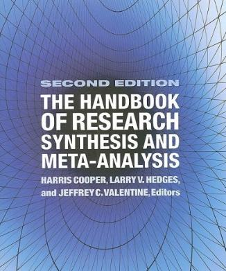 The Handbook of Research Synthesis and Meta-Analysis, 2nd Edition (2009)