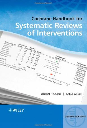Cochrane Handbook for Systematic Reviews of Interventions (2008)