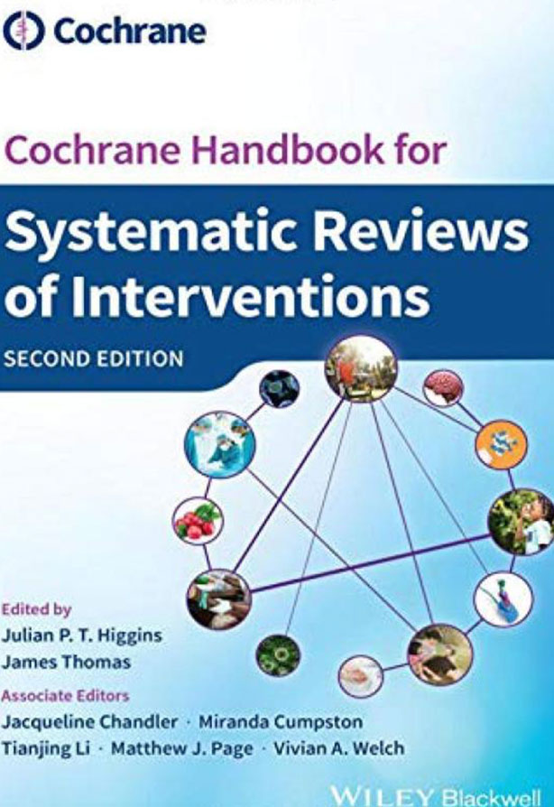 Cochrane Handbook for Systematic Reviews of Interventions, 2nd edition (2019)