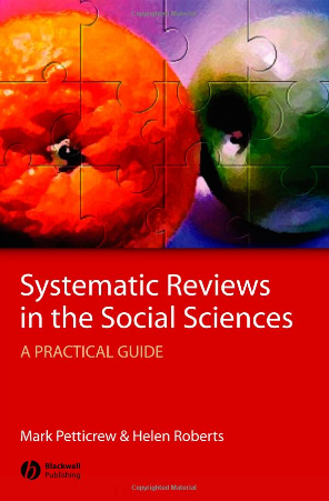 Systematic  Reviews in the Social Sciences (2006)